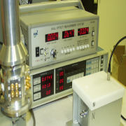 This machine measures semiconductor parameters