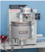 machine is used for analyzing ceramics and metal powder injection molded parts.