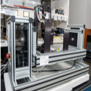 machine is used to measure the static contact angle to a high degree of accuracy