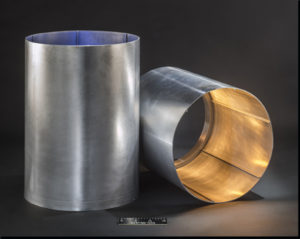 A picture of Near Net Integrally Stiffened Cylinders